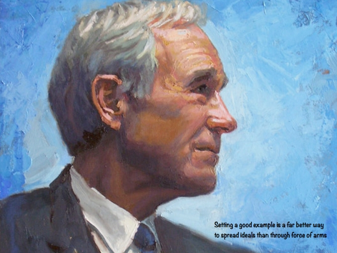 Ron Paul example quote
