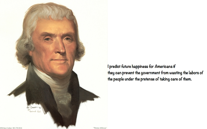Thomas Jefferson - Happiness